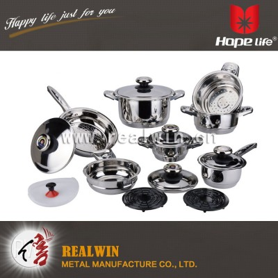16 PCS COOKWARE SET