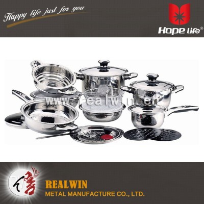 21 PCS COOKWARE SET