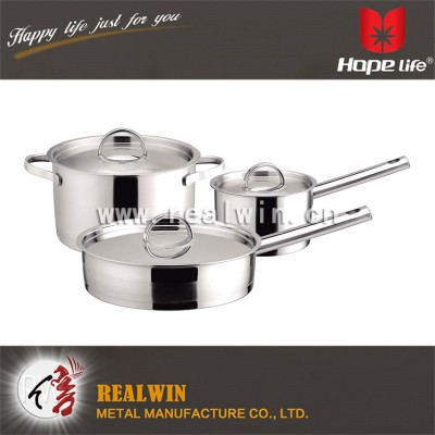 6 PCS COOKWARE SET